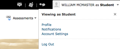 Viewing as a Student